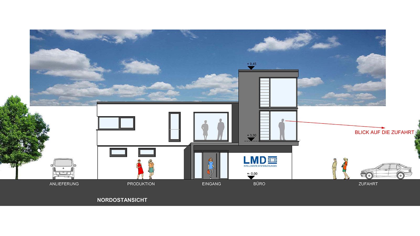 LMD Bürogebäude in Lennestadt