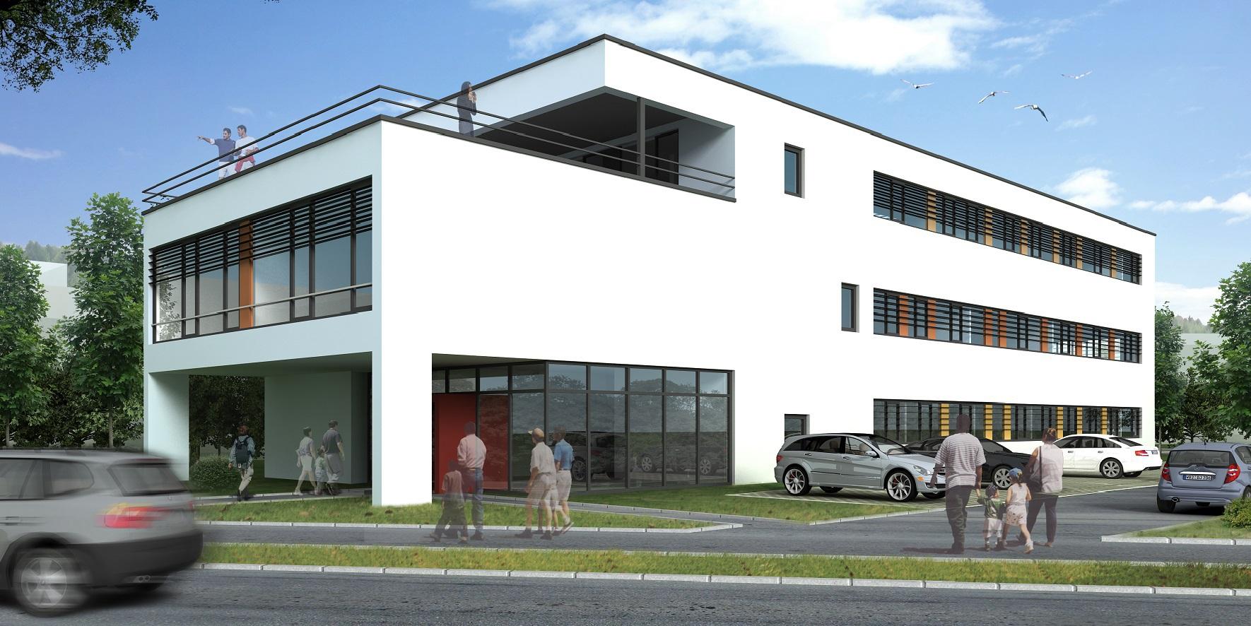 Büro- und Verwaltungsgebäude in Gummersbach