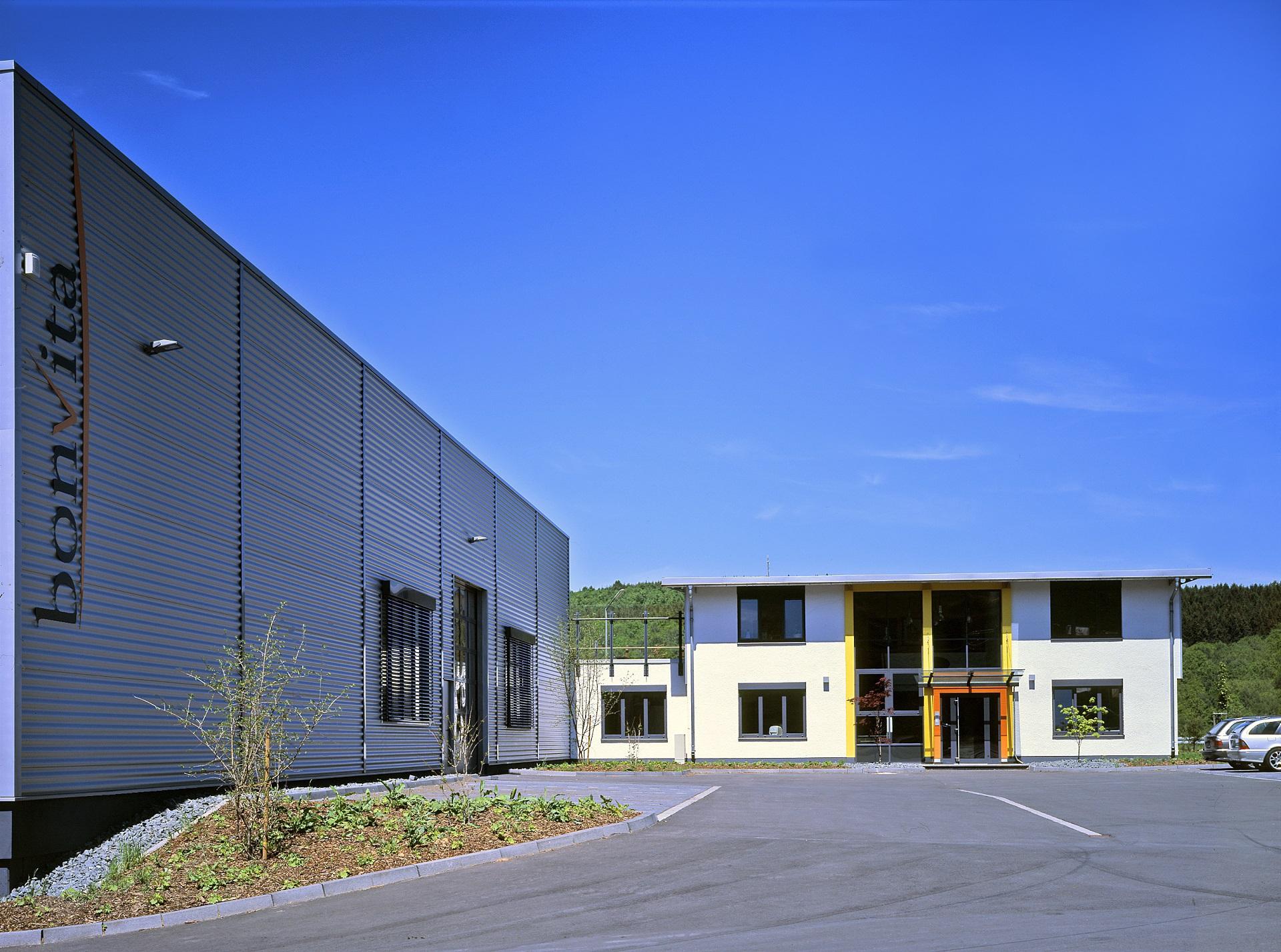 Neubau Produktion und Verwaltung der Fa. Bonvita