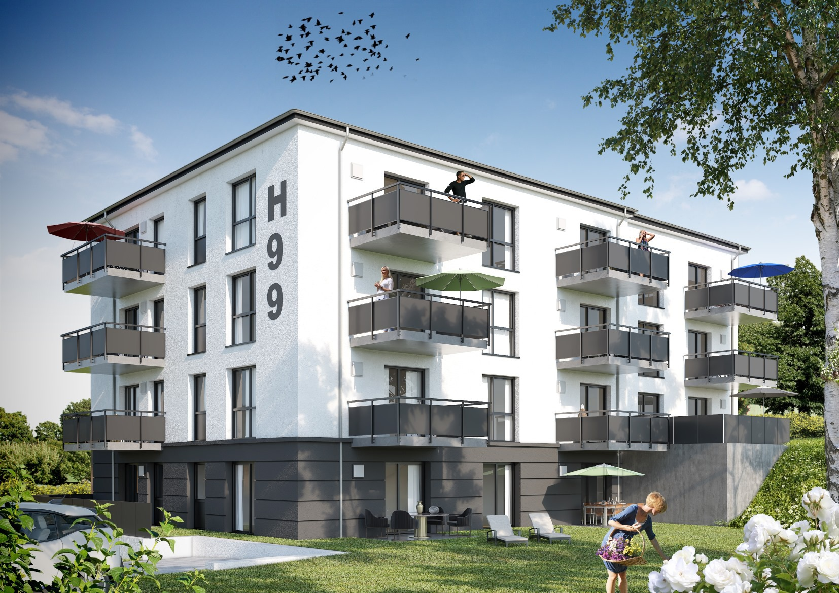 Mehrfamilienhaus in Lennestadt/Altenhundem