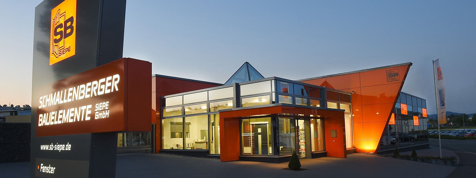 Erweiterung der Verwaltung und Produktion der Fa. Schmallenberger Bauelemente