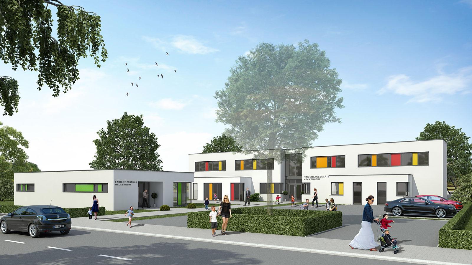 Kindertagesstätte und Familienzentrum in Meckenheim