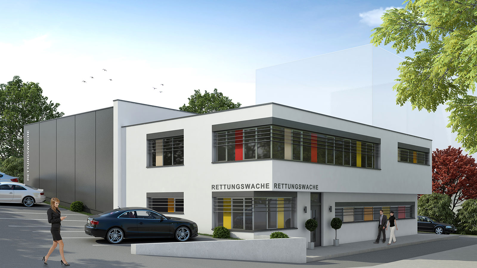 Rettungswache in Wipperfürth